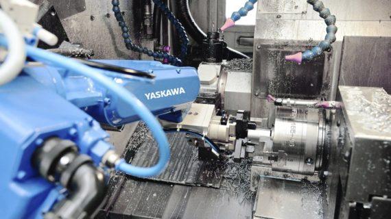 Automated feeding of machine tools